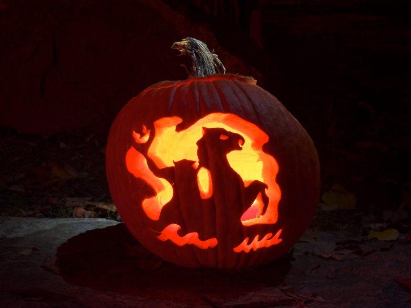 Jack O'Lantern at Sleepy Hollow Haunted Hayride